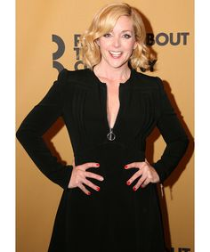 """The cast at Roundabout Theatre Company and special guest Jim Parsons starred in a one-night-only benefit gala reading of """"Merton of the Movies"""" at Studio 54 in New York City, Jane Krakowski, part of the cast of """"Merton of the Movies"""""""