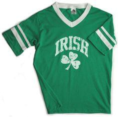 Vintage Irish Jersey - St Patricks Day T-shirts #StPatricksDay #Tshirts