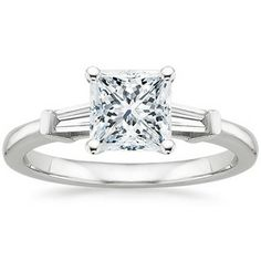 The Tapered Baguette Diamond Ring #BrilliantEarth