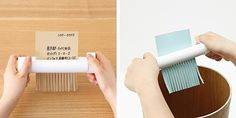 Wind Up Paper Shredder From Muji. COOOLLLL! :P