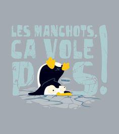 Manchot Volant -  a unique laFraise design by Cousinmachin