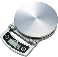 """Digital Cooking Scale Tanita Kd-400-sv Silver by TANITA. $64.98. convenient design that can be stored in an upright position.. ? High precision display of unit 1g to 2kg. ? You can eliminate the effect of gravity with the """"Regional Settings feature."""" ? Color: Body mass 3.3cm width 22.4 × height 16.0 × depth: When using a 4.4cm width 16.7 × height 16.0 × depth: when storing Product Size: Use one CR2032 coin-type lithium battery Power: 2000g: Silver Maximum weight: (includi..."""