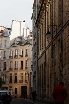 Rue Debelleyme, Le Marais, Paris, près du musée Picasso