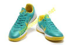 Nike Black Mamba 24 Kobe New Green Yellow 579756 401