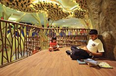 Singapore: The ecology is at the heart of the My Tree House children's library. Photo: National Library Board, Singapore