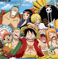 One Piece - The Staw Hats Pirate