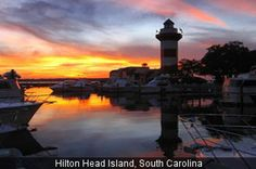 Hilton Head in the winter, not being in New York for the snow and slush!