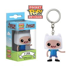 Pocket Pop! Keychain: Adventure Time - Finn