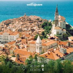 Pirano, Slovenia, is a little ancient town, with beautiful glimpse over the sea, great architecture, and restaurants with a precious cooking! Not to be missed!