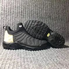 a92a7873b5 New Arrival Nike Air Max Plus Slip SP TN Men's Shockproof Sports Shoes Black  / Gold