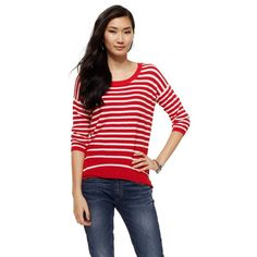 Juicy Couture Nautical Stripe Sweater ($65)