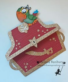 Porch Swing Creations: Jake & The Neverland Pirates Treasure Chest!