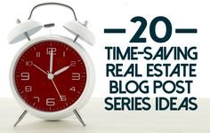 Even the most talented writers will tell you coming up with fresh new content can be tiresome, but they'll also note there's a trick to get around... https://placester.com/real-estate-marketing-academy/20-real-estate-blog-ideas-save-time/ via @placester h/t @raleighncrealty @KyleHiscockRE #realestate #blogging
