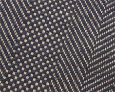 Twill Basket Navy rug from Elizabeth Eakins