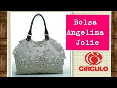 Versão destros: Bolsa Angelina Jolie em crochê ( 1° parte) # Elisa Crochê - YouTube Crochet Bag Tutorials, Crochet Videos, Crochet Chart, Knit Crochet, Crochet Patterns, Crochet Handbags, Crochet Purses, Angelina Jolie, Knitted Bags