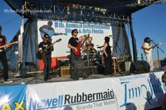 Stage at the 8th annual San Felipe Blues & Arts Fiesta held March 28th - 29th, 2014 #sanfelipe #sanfelipebluesandarts