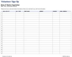 10 Best Sign Up Sheets Images Classroom Setup Classroom Ideas