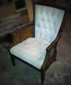 free in Minnetonka - paint woodwork black and get rid of the wicker sides.