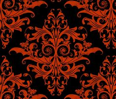 halloween fabric, wallpaper & gift wrap - Spoonflower