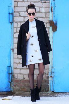 Zara eye dress