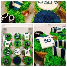 Tottenham Hotspur 'Spurs' Football Club Cupcakes