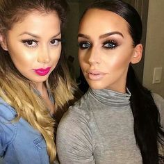 Carli Bybels Makeup look in this picture!! ❤