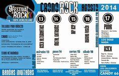 Cresta Metálica Producciones » 9NO FESTIVAL DE ROCK 100% VENEZOLANO desde el 13 de agosto en Valencia