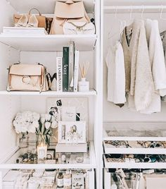 10 Tips to Easily Organize Your Closet for Fall * Lou What Wear Apartment Closet Organization, Wardrobe Organisation, Kids Room Organization, Closet Storage, Drawer Storage, Organizing Ideas, Storage Chest, Cleaning Closet, Cleaning Room