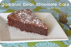 Garbanzo Bean Chocolate Cake (replace the sugar)