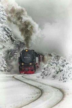 Treno su neve