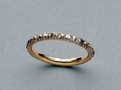Queen Charlotte's keeper ring, given to her by King George III on their wedding day. 1761.