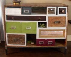 more ideas for old drawers