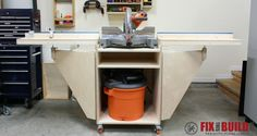 Mobile Miter Saw Station : Part 2