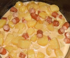 potato cheddar sauce with cookeo - easy and quick recipes # melted - 6 p . Sauce Cheddar, Cheddar Fondu, Cake Factory, Quick Recipes, Hawaiian Pizza, Couscous, Nutella, Barbecue, Macaroni And Cheese