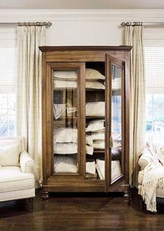 linen armoire