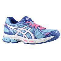 ASICS® GEL-Exalt 2 - Women's - Ice Blue/White/Hot Pink