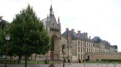 Thouars, chapelle du Château des ducs de la Trémoïlle-Thouars
