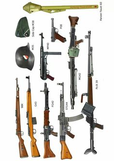 Some small arms of the Wehrmacht. -The Wehrmacht -