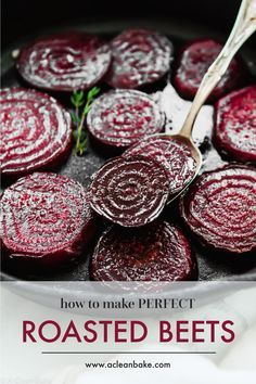 Properly roasted beets are a far cry from those tasteless pink slabs from a can. Roasted beets are sweet tender and delicious! Properly roasted beets are a far cry from those tasteless pink slabs from a can. Roasted beets are sweet tender and delicious! Vegetable Side Dishes, Vegetable Recipes, Healthy Snacks, Healthy Recipes, Beet Recipes Healthy, Recipes For Beets, Turnip Recipes, Beetroot Recipes, Beet Salad Recipes