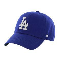 Los Angeles Dodgers - Logo Franchise Royal Fitted Baseball Cap   OldGlory.com