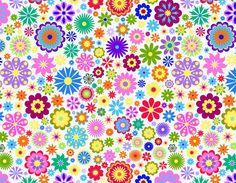 Flower-Background-Design-Vector-Illustration.jpg (781×607)