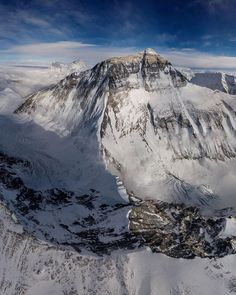 High-altitude drone captures rare view of Mount Everest Climbing Everest, Camping Set Up, World Pictures, Drone Photography, Nature Photography, The World's Greatest, National Geographic, Mount Everest, Adventure