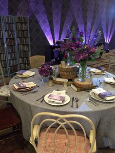 Rustic Wedding Table designed by Clarke Allen Events.