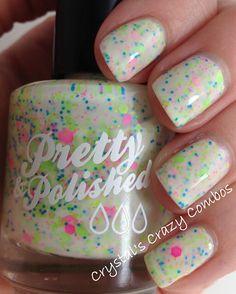 Popples Full Sized Nail Polish by PrettyandPolished on Etsy https://www.etsy.com/listing/151355423/popples-full-sized-nail-polish