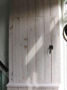 electriciteitskast Door Handles, My Photos, Garage Doors, Wood, Outdoor Decor, Inspiration, Home Decor, Basement Ideas, Google