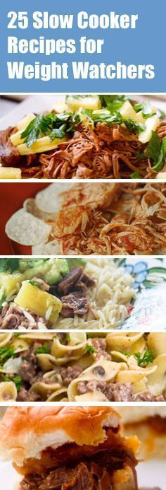 25 Slow Cooker Recipes for Weight Watchers - Recipe Diaries Rapid weight loss! The best method in Absolutely safe and easy! Healthy Recipes, Ww Recipes, Healthy Cooking, Slow Cooker Recipes, Healthy Eating, Cooking Recipes, Skinny Recipes, Dinner Healthy, Healthy Food
