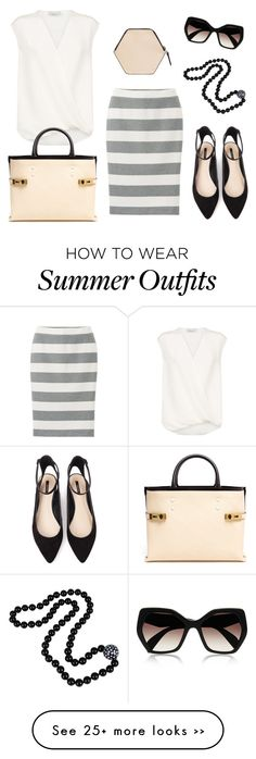 """""""Summer Inspired Work Outfit"""" by regallyblonde on Polyvore"""