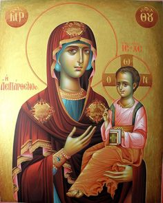 Religious Icons, Religious Art, Byzantine Icons, Guardian Angels, High Art, Orthodox Icons, My Prayer, Mother Mary, Our Lady