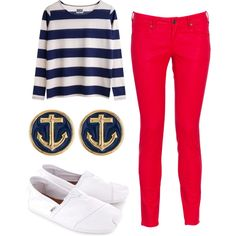 """""""Nautical Winter"""" by winter-days on Polyvore"""
