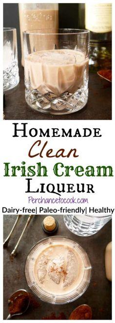 Homemade Clean Irish Cream Liqueur   Perchance to Cook, www.perchancetocook.com